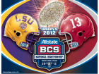BCS National Championship Wincraft 2012 BCS National Champ Duel Ultra Decal Bumper Stickers & Decals