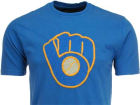 Milwaukee Brewers MLB Men's Letterman T-Shirt T-Shirts