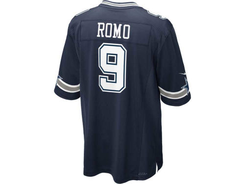 Dallas Cowboys ROMO Nike NFL Youth Game Jersey