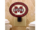 Mississippi State Bulldogs Art Glass Night Light Bed & Bath