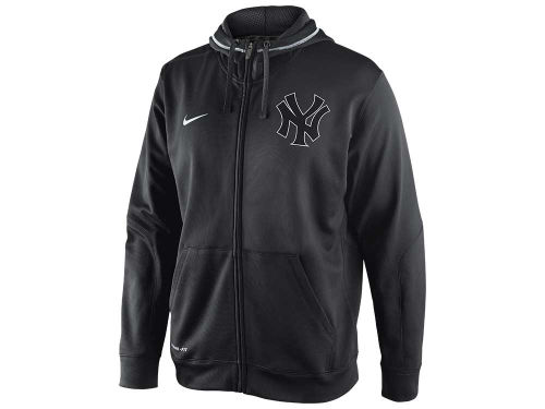 New York Yankees Nike MLB TKO Therma-Fit Fleece Full Zip Hoodie