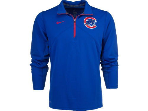 Chicago Cubs Nike MLB Dri-Fit Training 1/4 Zip Pullover