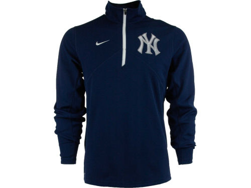 New York Yankees Nike MLB Dri-Fit Training 1/4 Zip Pullover
