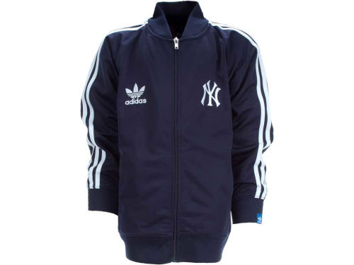 New York Yankees Outerstuff MLB Youth Legacy Track Jacket
