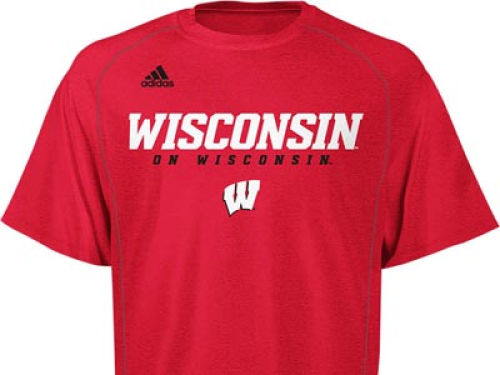 Wisconsin Badgers NCAA Sideline Graphic T-Shirt