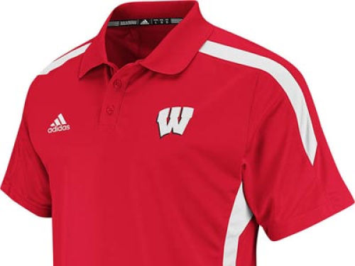 Wisconsin Badgers NCAA Sideline Polo