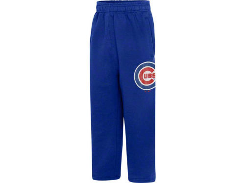 Chicago Cubs Outerstuff MLB Youth Team Color Fleece Pant