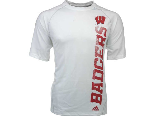 Wisconsin Badgers NCAA Sideline Vertical T-Shirt