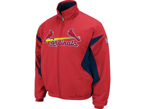 St. Louis Cardinals Majestic MLB Therma Base Triple Peak Premier Jacket
