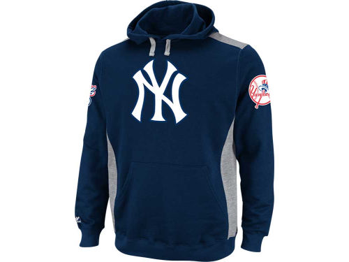 New York Yankees Majestic MLB Catcher Hooded Fleece