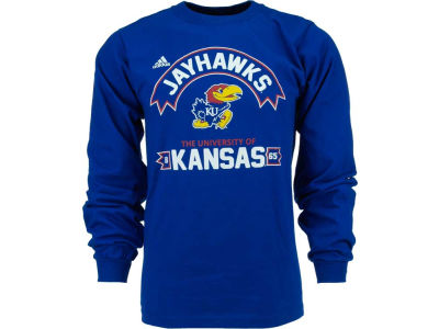 adidas NCAA Athletic Front Long Sleeve T-Shirt