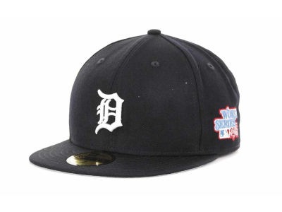 Detroit Tigers MLB Retro World Series Patch 59FIFTY Cap Hats