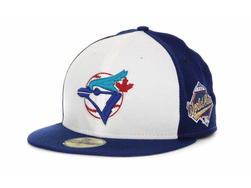 Toronto Blue Jays New Era MLB Retro World Series Patch 59FIFTY Cap Hats