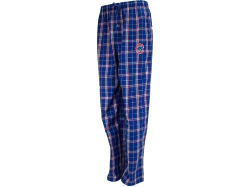 Chicago Cubs College Concepts MLB Draft Pick Woven Plaid Pant