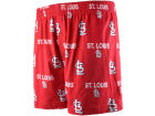St. Louis Cardinals College Concepts MLB Prospect Printed Knit Boxer Underwear