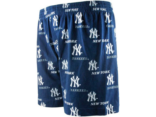 New York Yankees College Concepts MLB Prospect Printed Knit Boxer