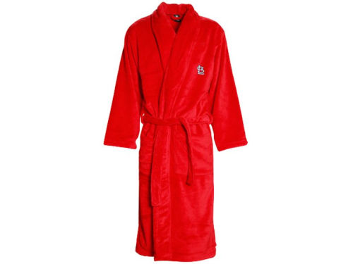St. Louis Cardinals College Concepts MLB Mens Team Plush Robe