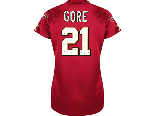 San Francisco 49ers Frank Gore VF Licensed Sports Group NFL Womens Draft Him II Top