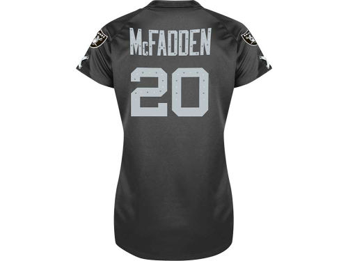 Oakland Raiders Darren McFadden VF Licensed Sports Group NFL Womens Draft Him II Top