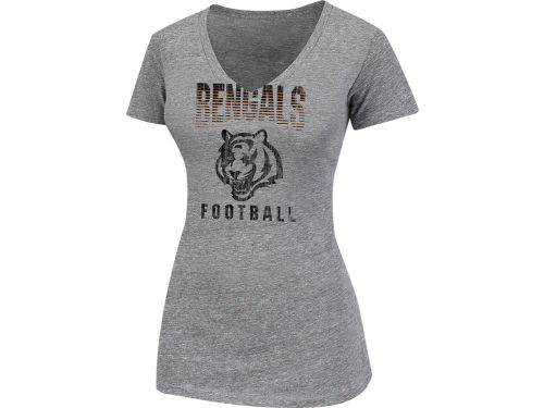 Cincinnati Bengals VF Licensed Sports Group NFL Womens Pride Playing III Top