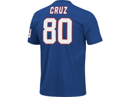 New York Giants Victor Cruz VF Licensed Sports Group NFL Eligible Receiver T-Shirt