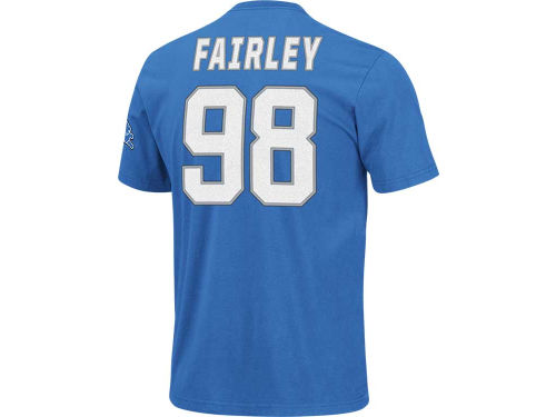 Detroit Lions Nick Fairley VF Licensed Sports Group NFL Men's Eligible Receiver T-Shirt