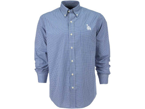 Los Angeles Dodgers Antigua MLB Focus Long Sleeve Woven Shirt