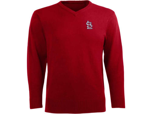 St. Louis Cardinals Antigua MLB Ambassador Long Sleeve Sweater