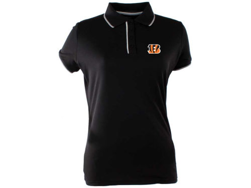 Cincinnati Bengals Antigua NFL Womens Elite Polo