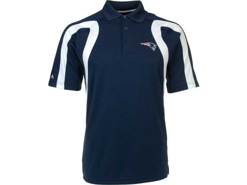 New England Patriots Antigua NFL Point Polo