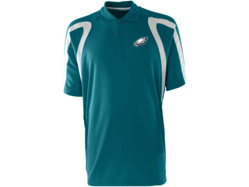 Philadelphia Eagles Antigua NFL Point Polo