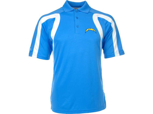 San Diego Chargers Antigua NFL Point Polo