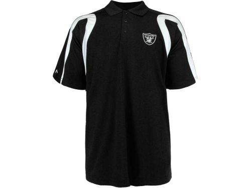 Oakland Raiders Antigua NFL Point Polo