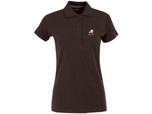 Cleveland Browns Antigua NFL Womens Spark Polo