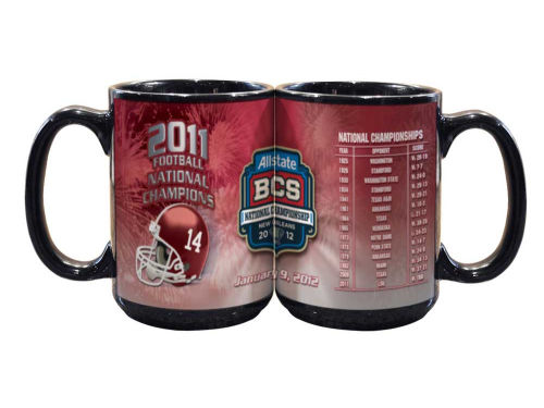 Alabama Crimson Tide 2012 BCS National Champ 15oz Mug