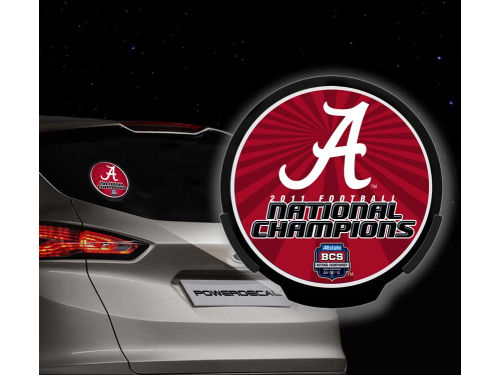 Alabama Crimson Tide Rico Industries 2012 BCS National Champ Power Decal
