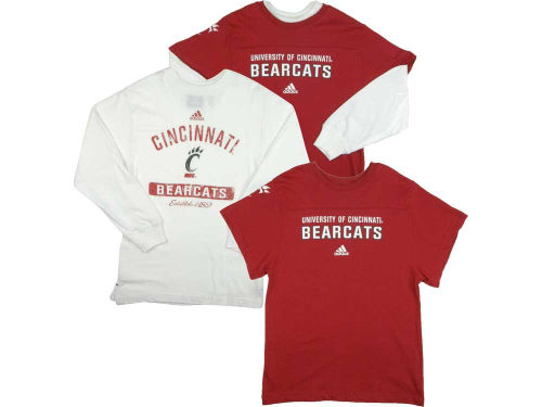 Cincinnati Bearcats Outerstuff NCAA Youth 3-in-1 Combo T-Shirt