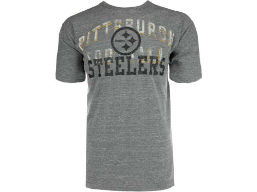 Pittsburgh Steelers GIII NFL Park Tri-Blend T-Shirt