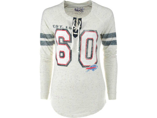 Buffalo Bills GIII NFL Womens Kickoff Lace-Up T-Shirt
