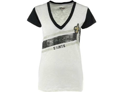 New Orleans Saints GIII NFL Womens Zone Coverage T-Shirt