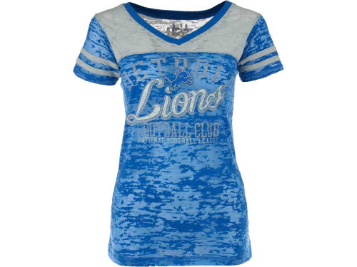 Detroit Lions GIII NFL Womens The Coop 2 Football Top
