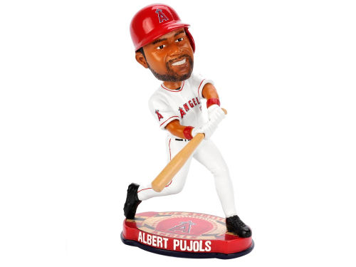 Los Angeles Angels Albert Pujols Forever Collectibles Plate Base Bobble