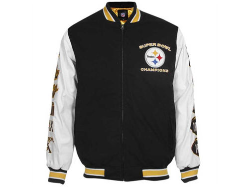 Pittsburgh Steelers GIII NFL Hall of Fame Commemorative Jacket