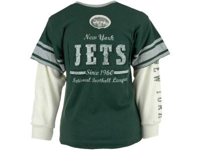 Outerstuff NFL Youth Long Sleeve Faux Layered T-Shirt