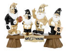 Purdue Boilermakers NCAA Fan Gnome Bench Lawn & Garden