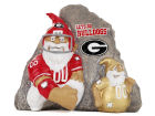 Georgia Bulldogs Gnome Rivalry Stone NCAA Lawn & Garden