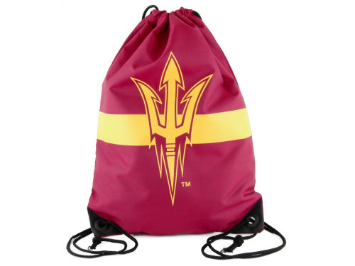 Arizona State Sun Devils Team Stripe Drawstring Bag