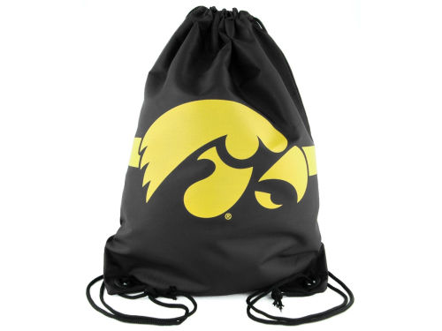 Iowa Hawkeyes Forever Collectibles Team Stripe Drawstring Bag