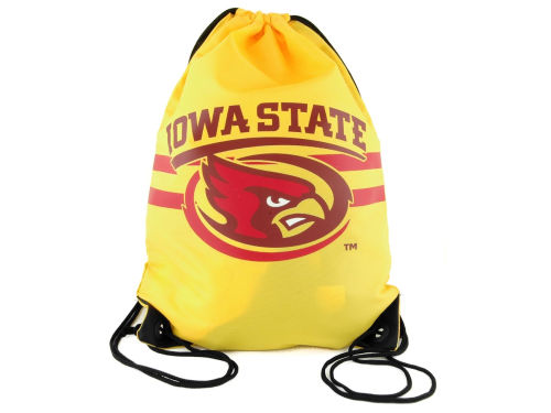 Iowa State Cyclones Forever Collectibles Team Stripe Drawstring Bag