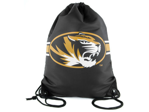 Missouri Tigers Team Stripe Drawstring Bag